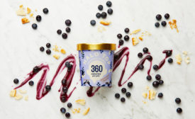 Halo Top Blueberry Crumble