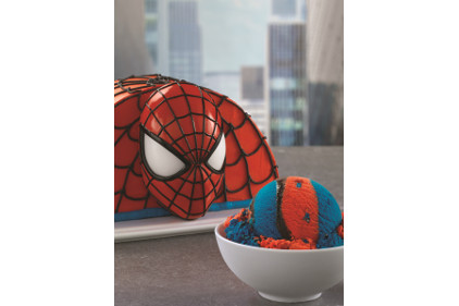 Baskin-Robbins Spider-Man ice cream and cake - feature