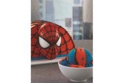 Baskin-Robbins Spider-Man ice cream and cake