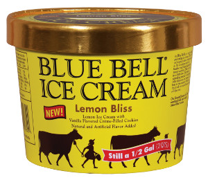 Blue Bell Lemon Bliss