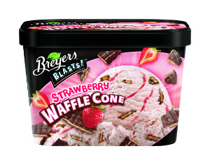 Breyers Blasts! Strawberry Waffle Cone