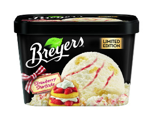 Breyers Strawberry Shortcake