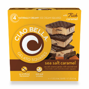Ciao Bella Sea Salt Caramel Square