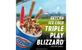 Dairy Queen Triple Play Blizzard