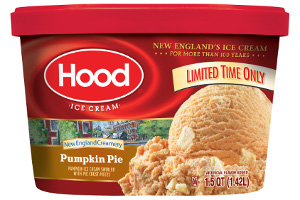 Hp Hood Pumpkin Pie ice cream