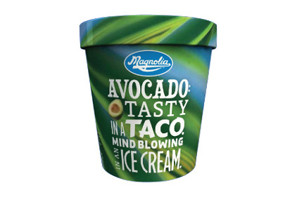 Magnolia Avocado ice cream - feature