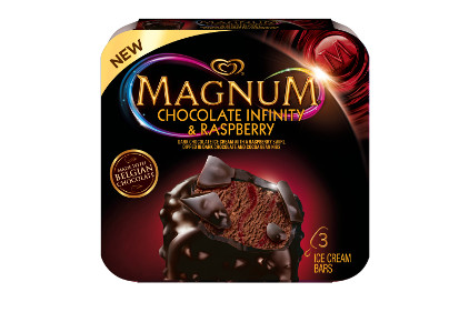 Magnum Infinity choc raspberry - feature