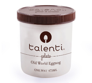 Talenti Old World Eggnog  gelato