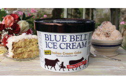 Blue Bell Italian Ice Cream Cake