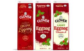 Clover Sonoma eggnog lineup