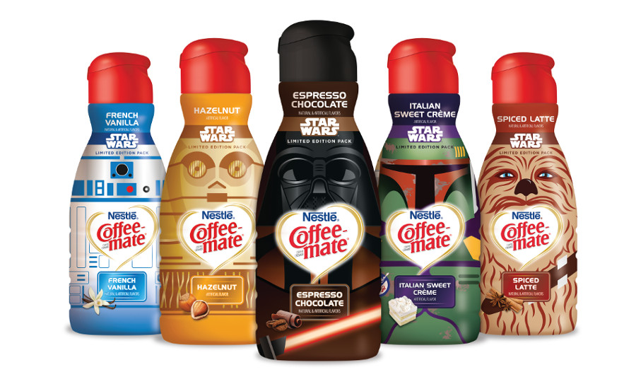 Coffee-Mate StarWars_creamers
