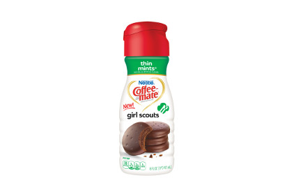 Coffee-Mate Thin Mints creamer - feature