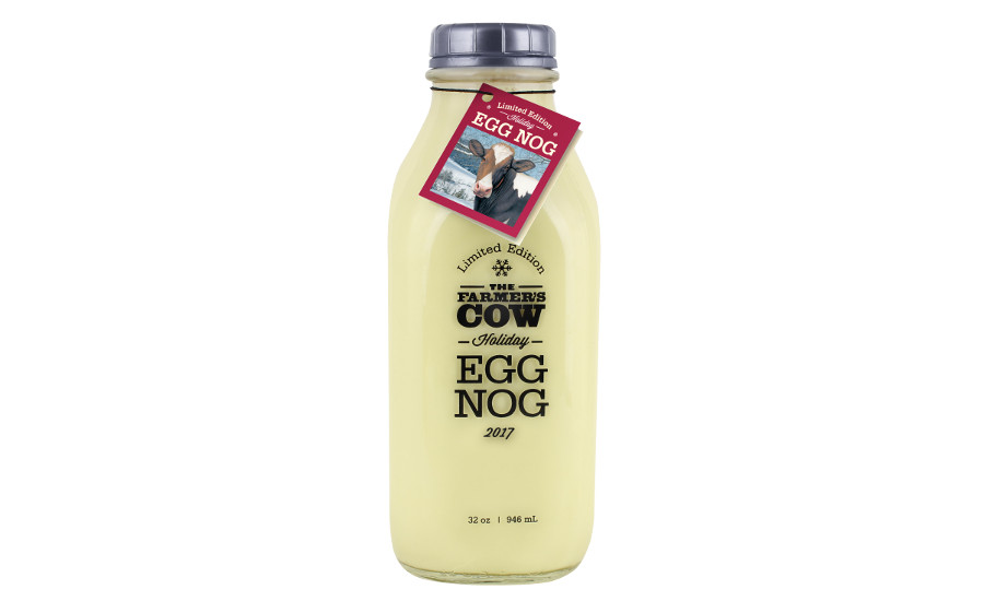 The Farmer's Cow holiday egg nog