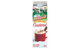 Hiland Dairy Custard flavored milk