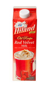 Hiland Dairy Red Velvet Milk