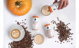 La Colombe pumpkin spice latte beauty shot