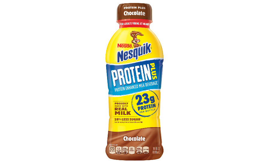 Nestle Nesquik Protein Plus chocolate
