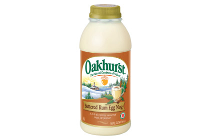Oakhurst Buttered Rum Nog - feature