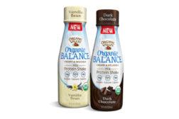 Organic Valley Balance milk shakes