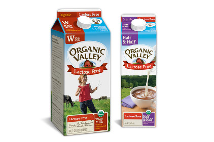Organic Valley Lactose Free whole milk - feature