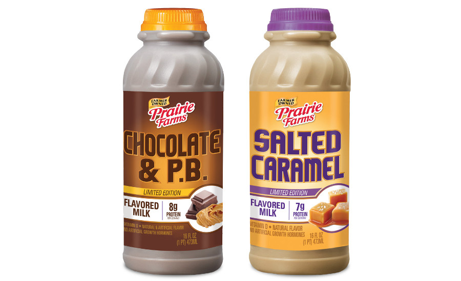 Prairie Farms single serve flavored milks