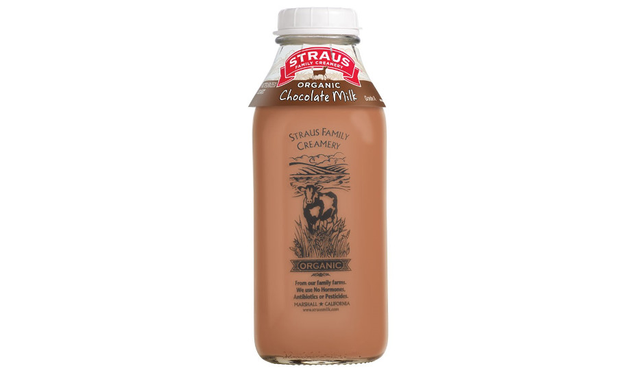 Straus Family Creamery organic chocolate milk