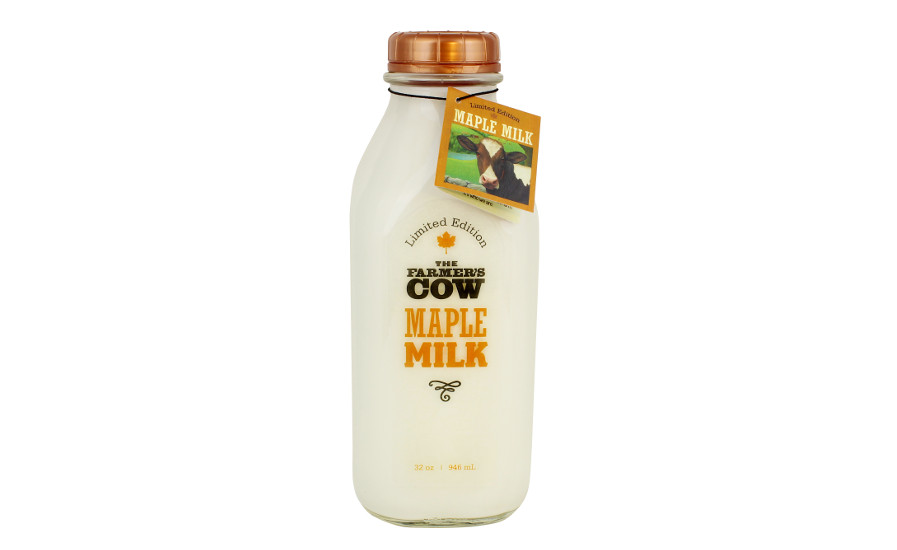 The Farner's Cow maple milk