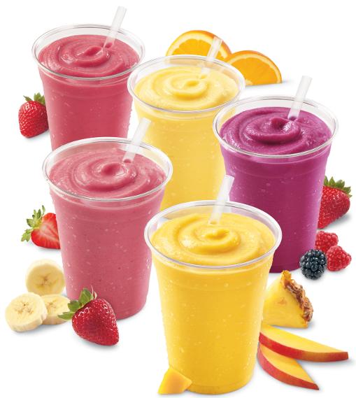 Orange julius low fat yogurt fruit smoothies come to dairy for Food bar orange