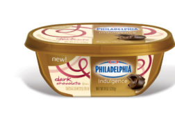 Philadelphia Indulgence is a chocolate cream cheese spread made with a blend of real, luscious chocolate and rich, creamy Philadelphia.