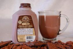 Sassy Cow low-fat chocolate milk