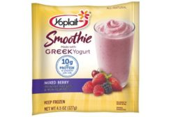 Yoplait Mixed Berry Greek yogurt smoothie