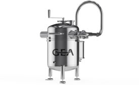 GEA freeze drying pilot plant