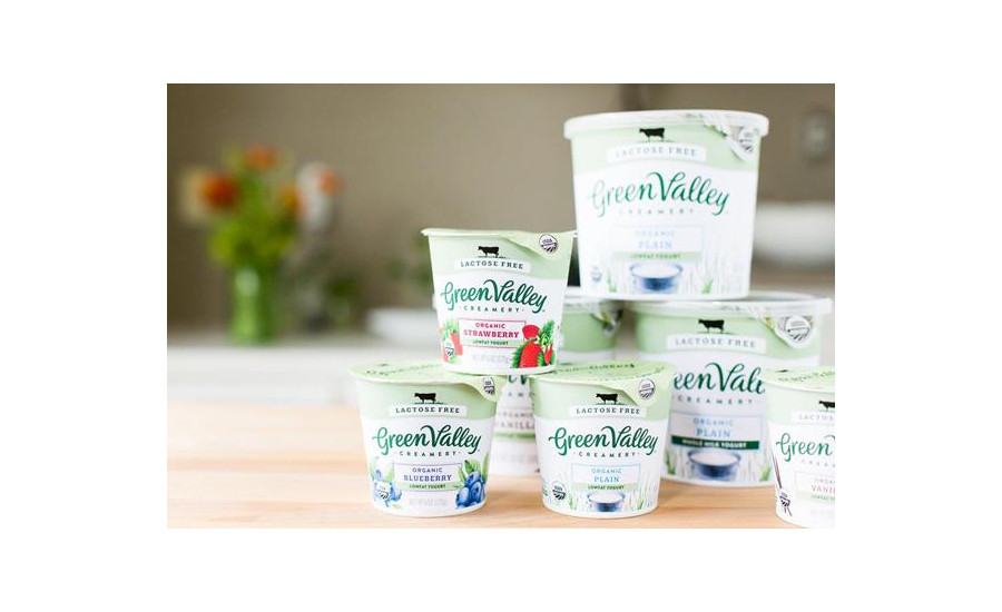 Green Valley Creamery packaging