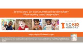 Hersheys Ice Cream and No Kid Hungry