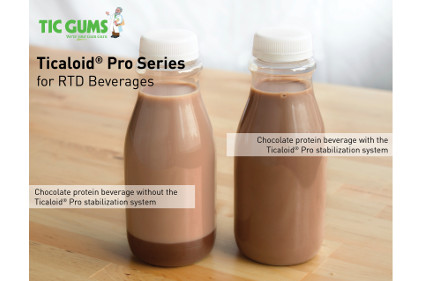 TIC Gums_Protein Beverages With and Without Ticaloid