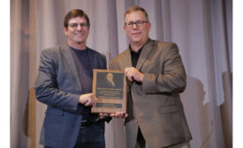 Jerry Messer receives Lyng Award