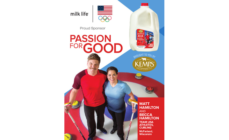 Kemps Team USA promotion
