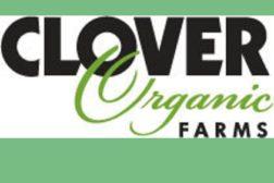 Clover Farms logo organic non-GMO dairy milk