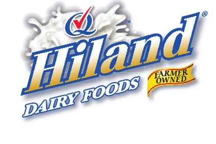 Hiland Dairy logo feature