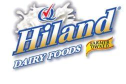 Hiland Dairy logo a division of Prairie Farms