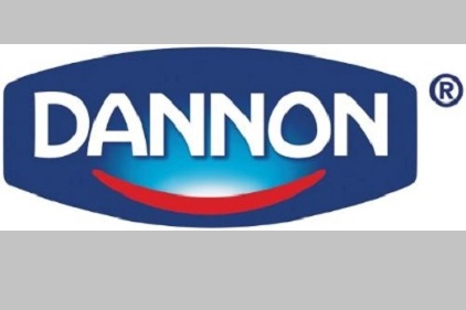 Dannon logo White Plains N.Y. yogurt maker