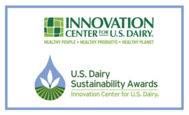 U.S. Dairy Sustainability Awards awarded by the Innovation Center for U.S. Dairy