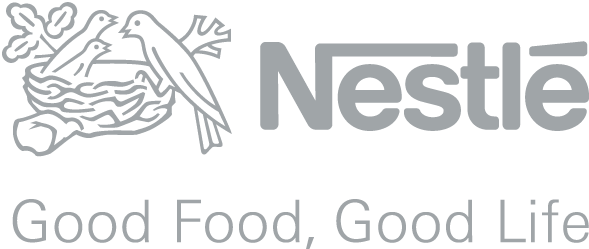 Nestle logo in Vevey Switzerland