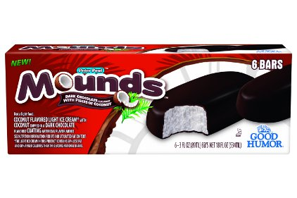 Mounds Ice Cream Bars - Feature