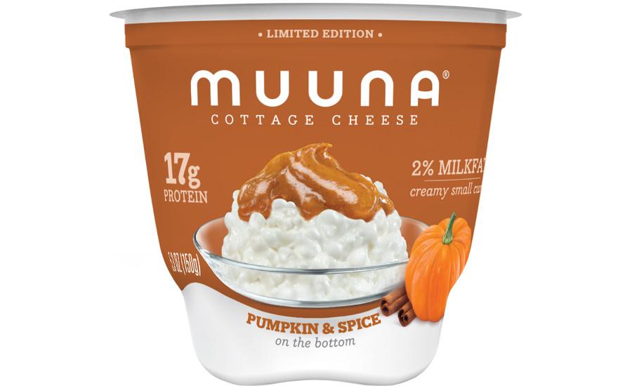 muuna launches pumpkin spice cottage cheese 2018 10 09 dairy foods rh dairyfoods com