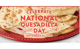 National Quesadilla Day