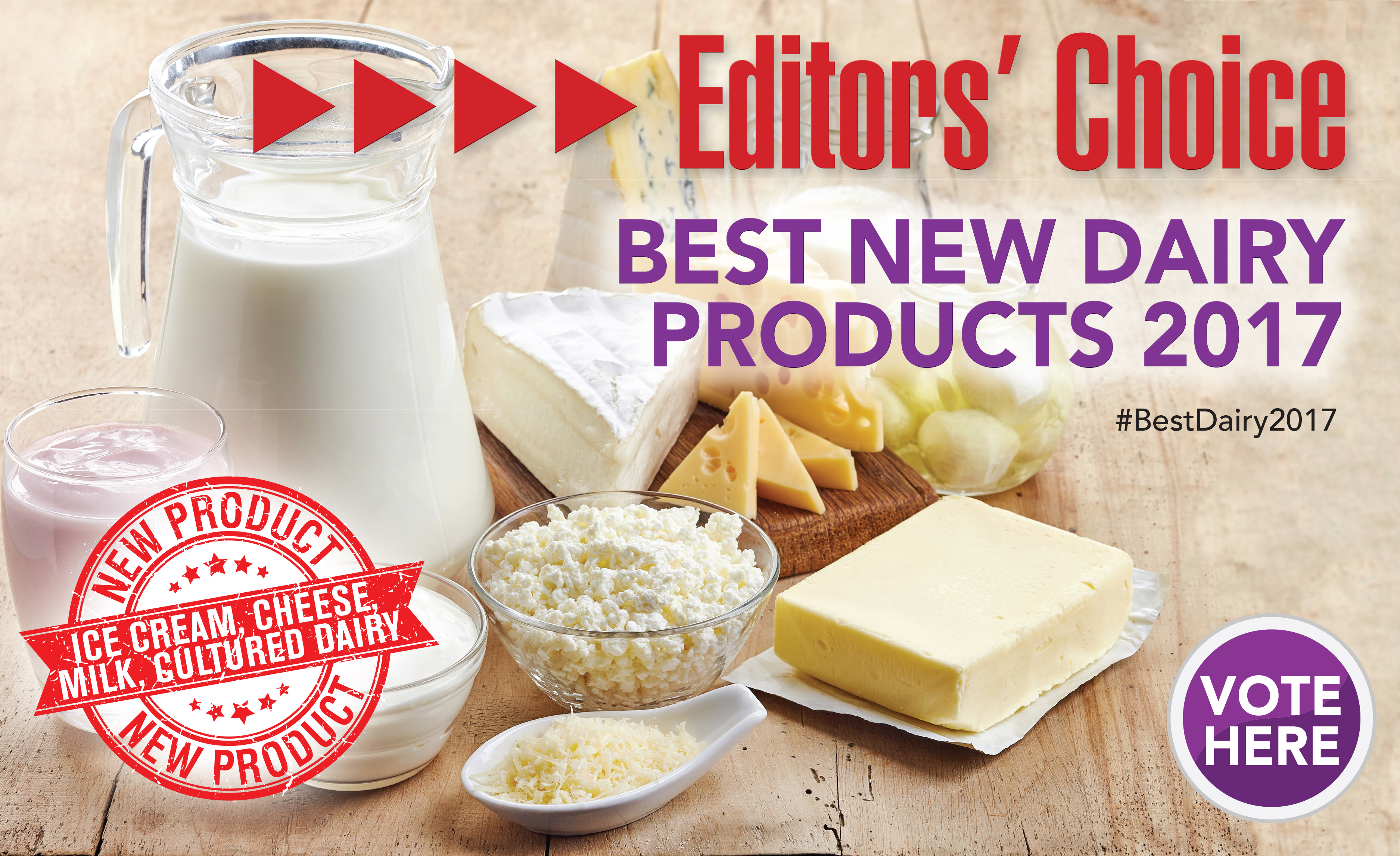 Best New Dairy Products of 2017