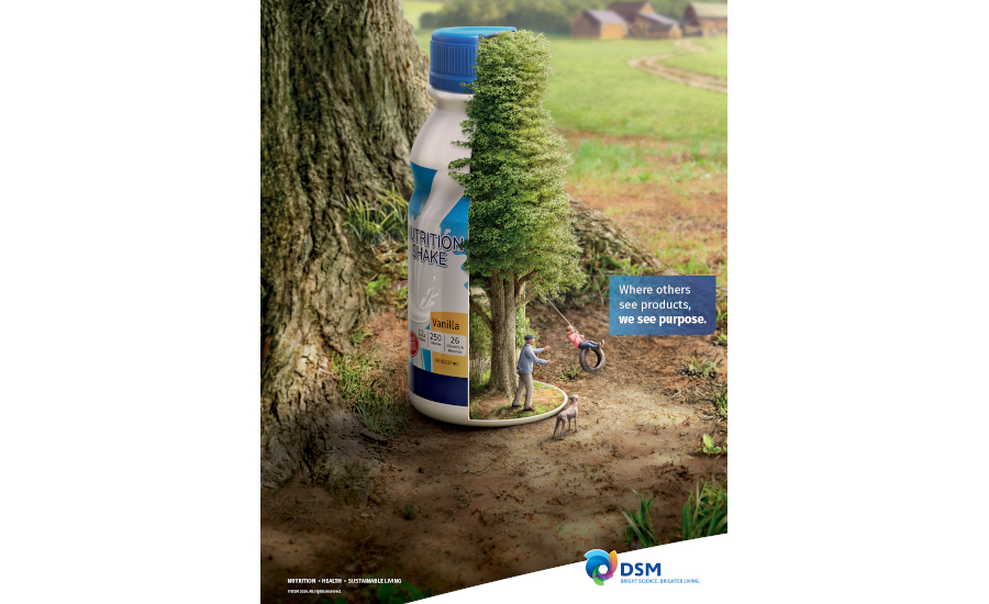 Royal DSM health nutrition marketing campaign