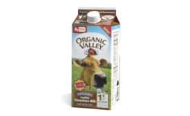 Organic Valley lactose free chocolate milk
