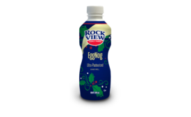 Rockview Farms eggnog new packaging